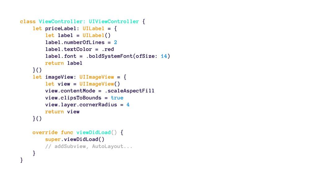 class ViewController: UIViewController { let pr...