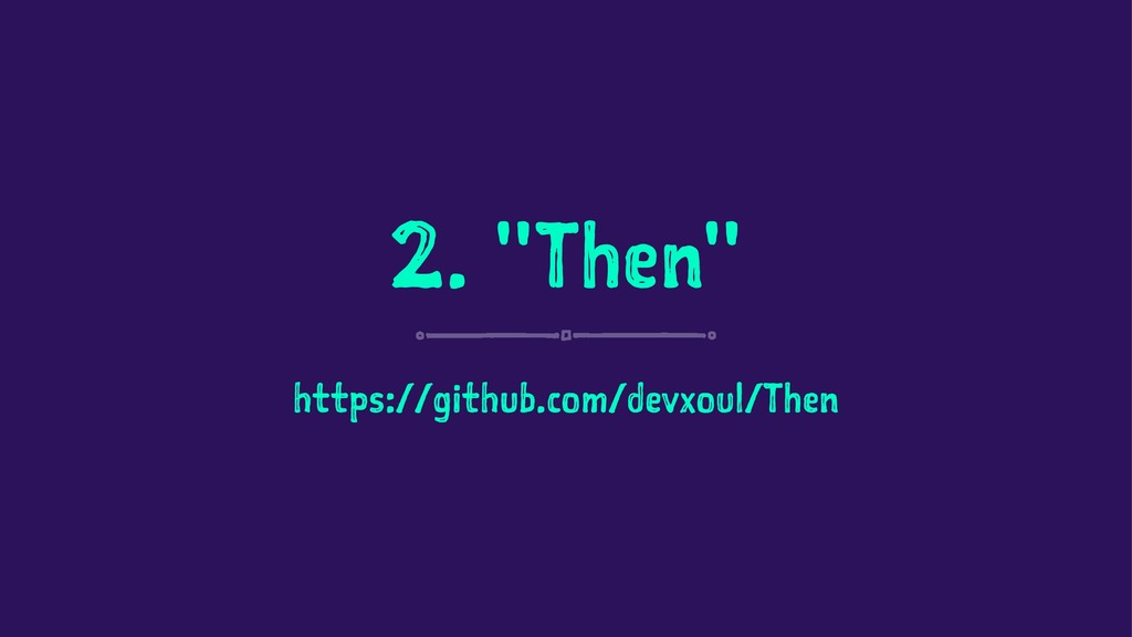 "2. ""Then"" https://github.com/devxoul/Then"