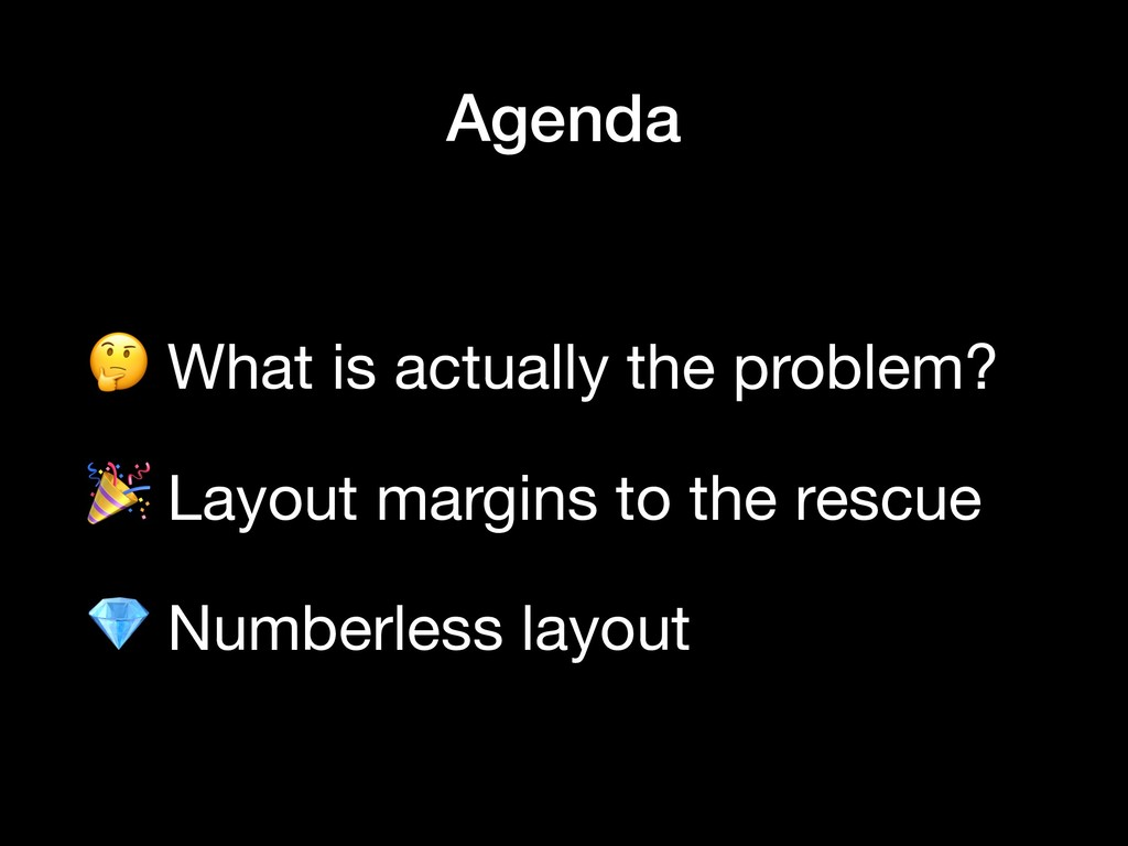 What is actually the problem?    Layout margin...