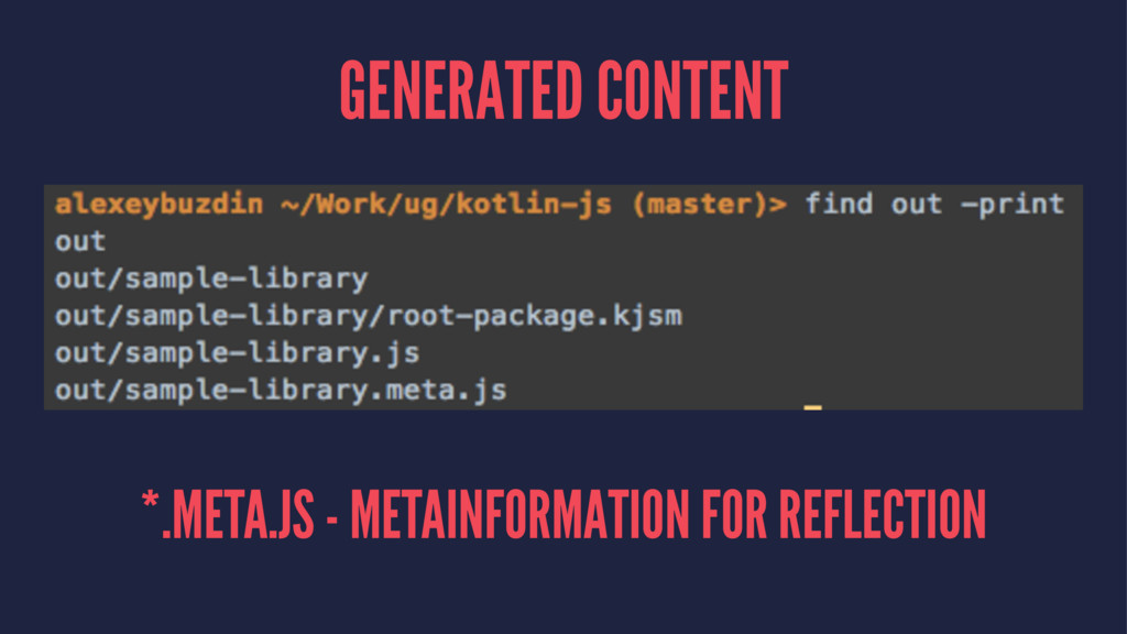GENERATED CONTENT *.META.JS - METAINFORMATION F...