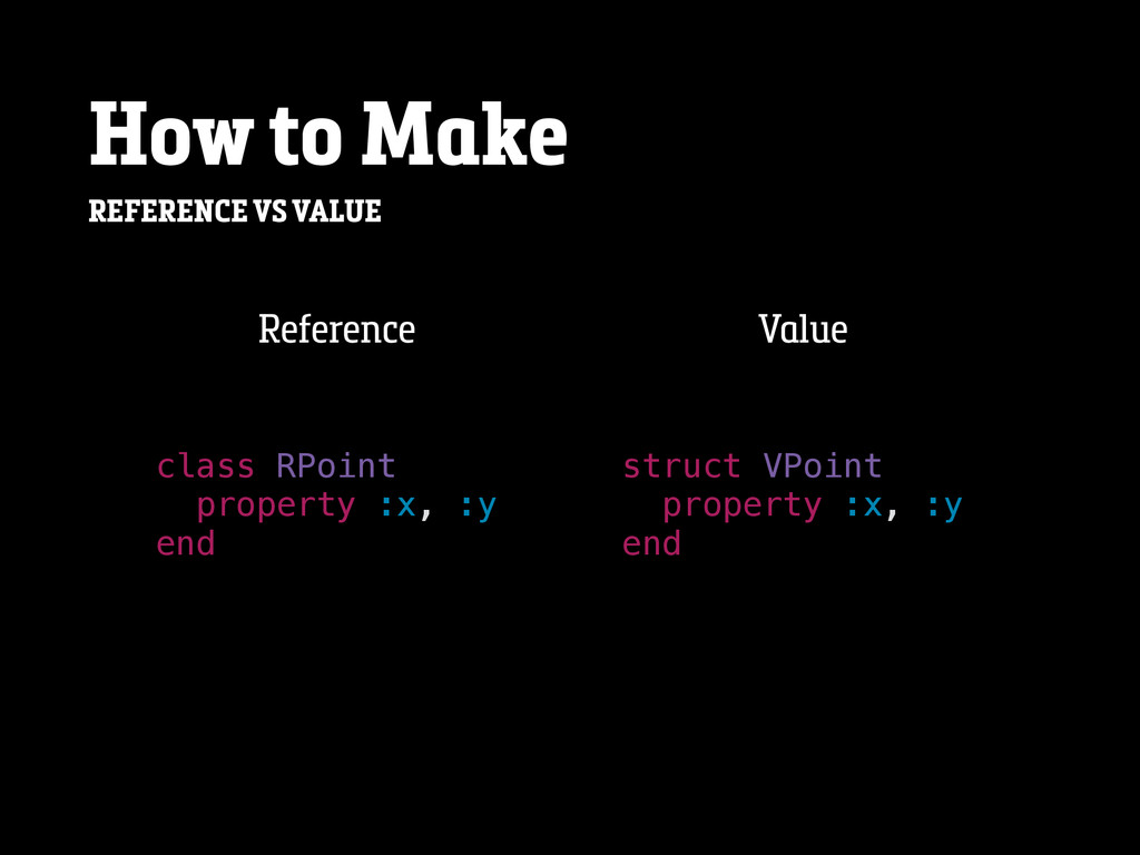 How to Make REFERENCE VS VALUE class RPoint pro...