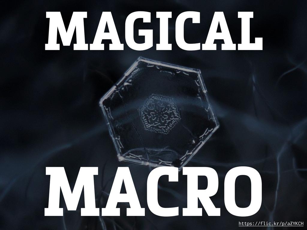 MAGICAL https://flic.kr/p/aZYKCH MACRO