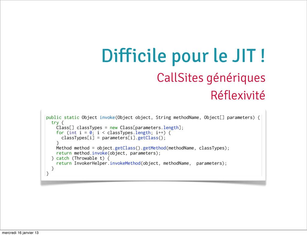public static Object invoke(Object object, Stri...