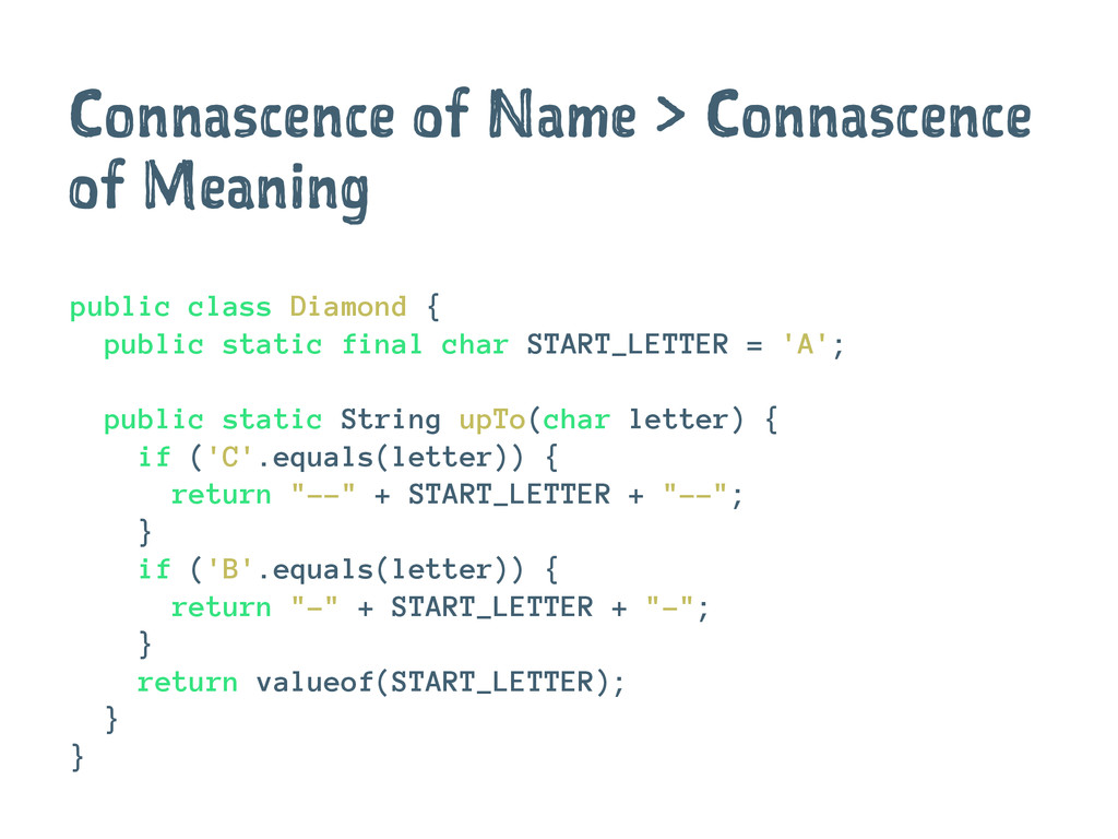 Connascence of Name > Connascence of Meaning pu...