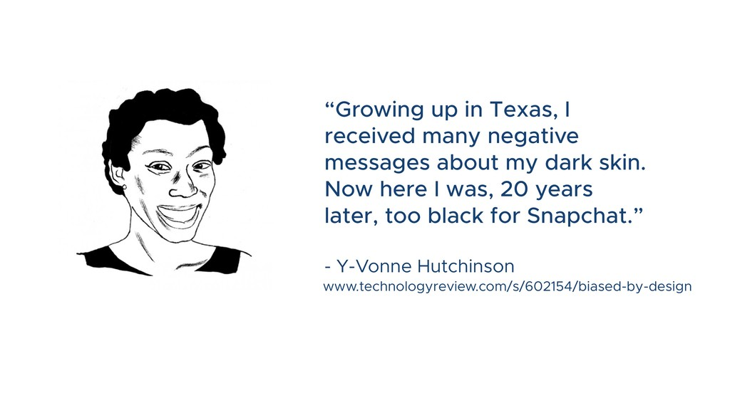 """""""Growing up in Texas, I received many negative ..."""