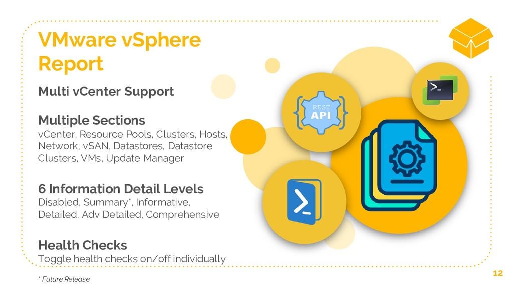 Multi vCenter Support Multiple Sections vCenter...