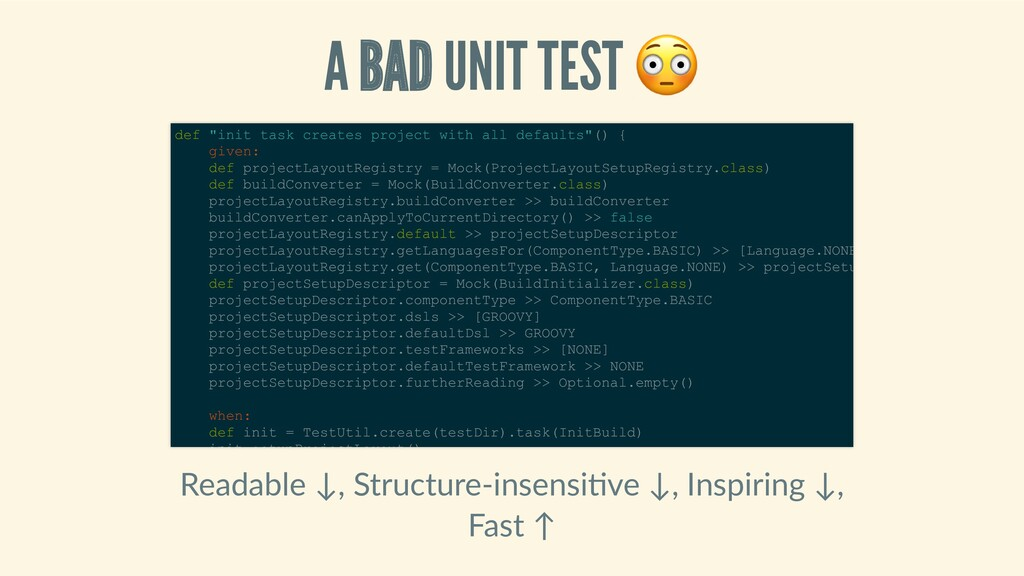 ABADUNITTEST Readable↓,Structure‑insensi ...