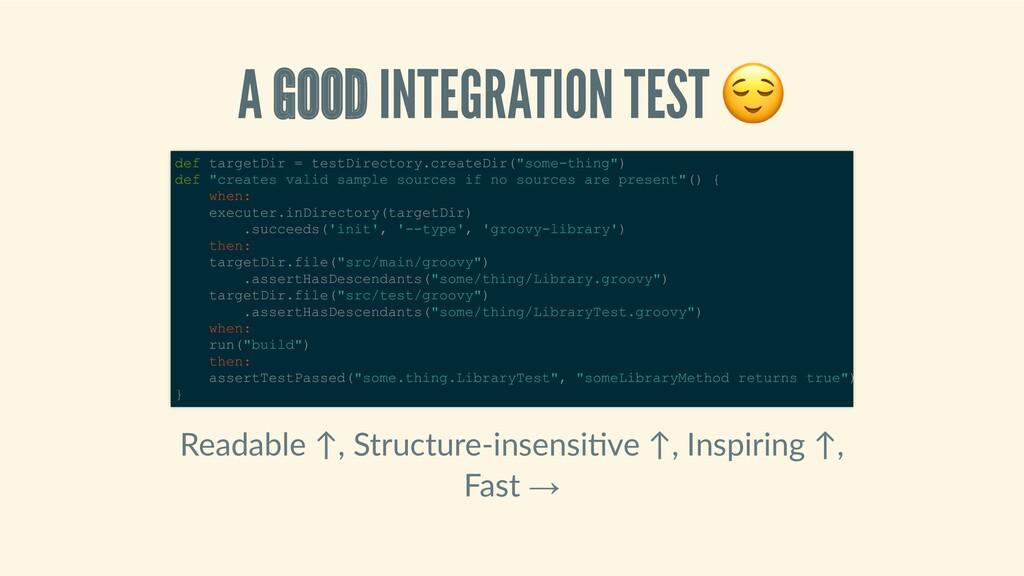 AGOODINTEGRATIONTEST Readable↑,Structure‑...