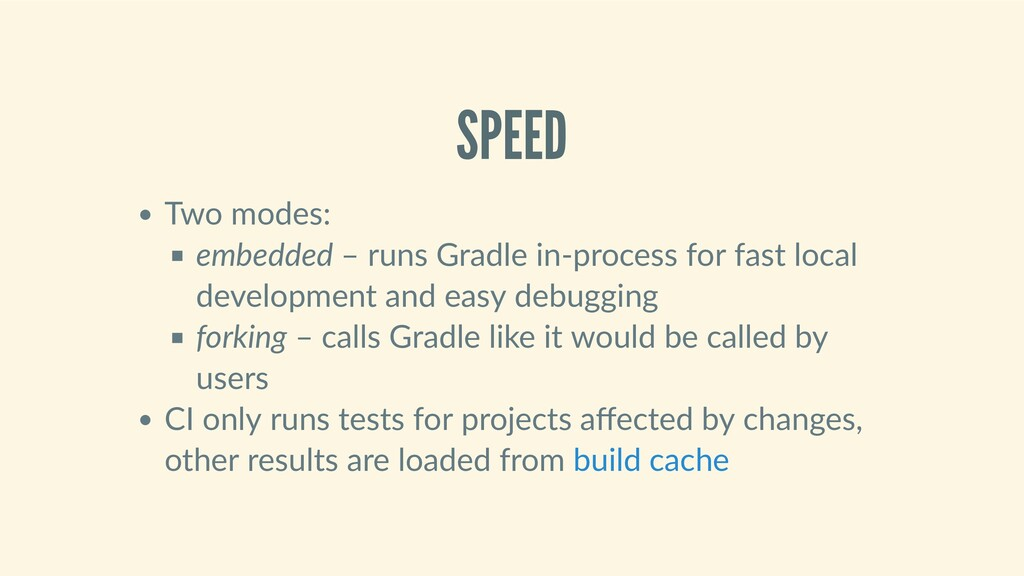 SPEED Twomodes: embedded–runsGradlein‑proc...