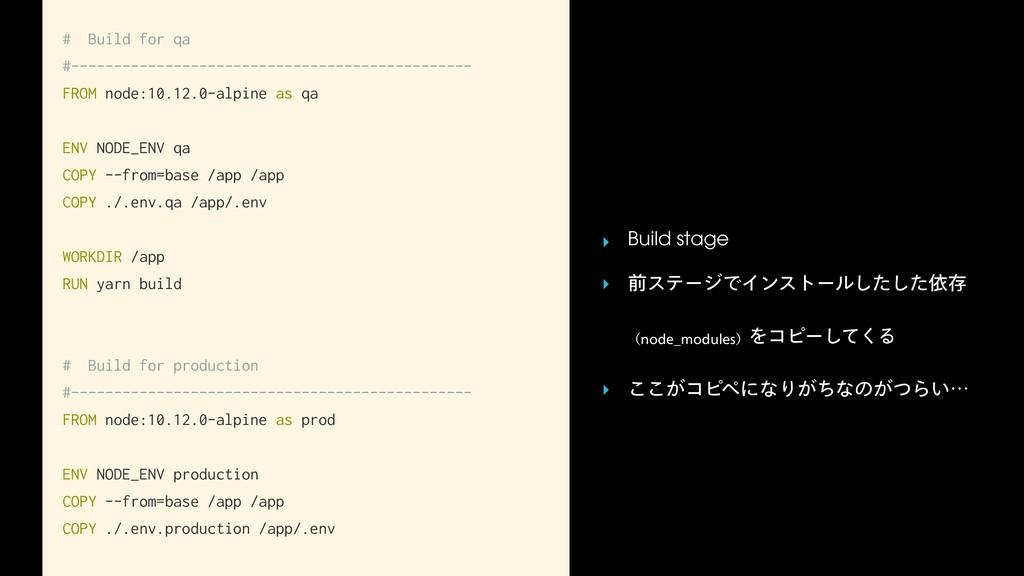 # Build for qa #-------------------------------...