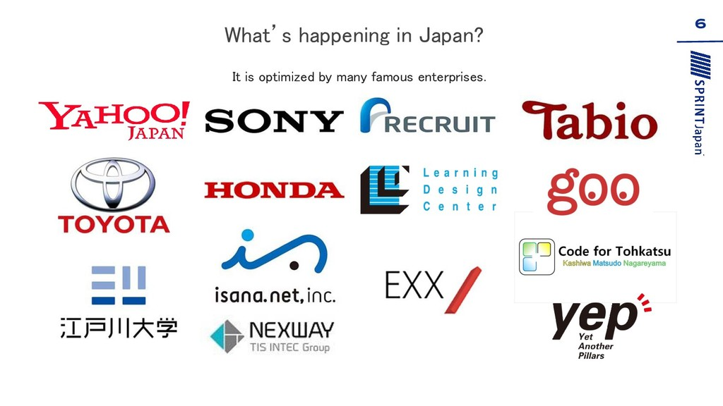 What's happening in Japan?