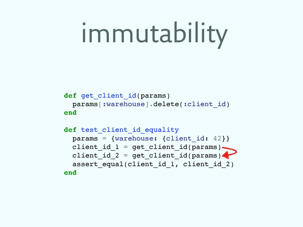 immutability def get_client_id(params) params[:...
