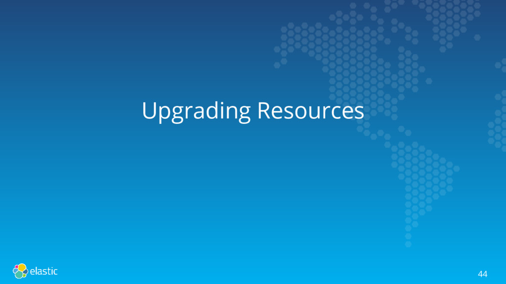 Upgrading Resources 44