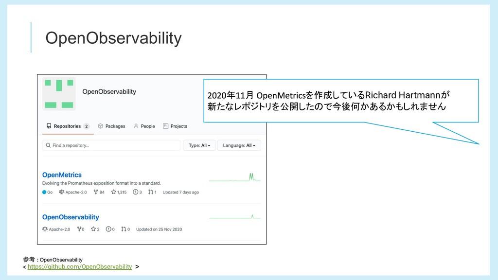 OpenObservability 参考 OpenObservability https://...