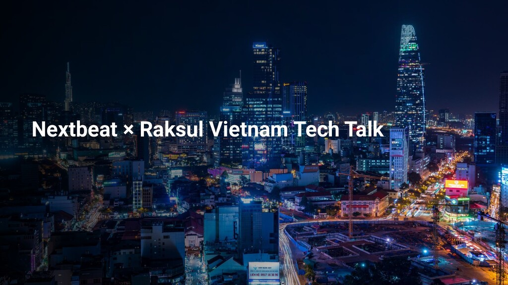Nextbeat × Raksul Vietnam Tech Talk