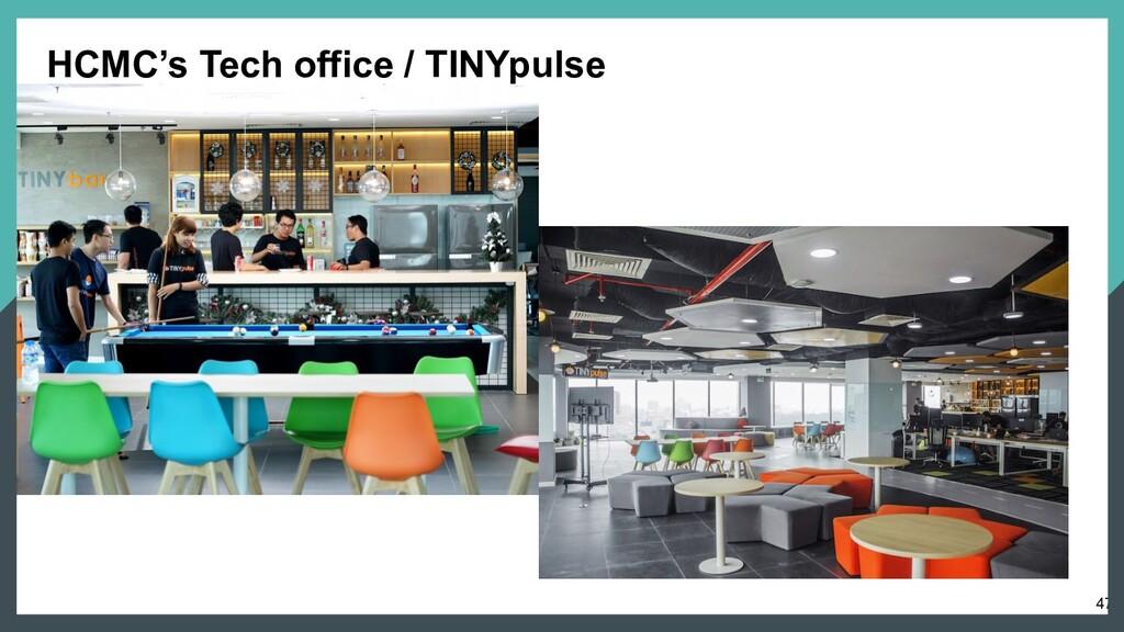 47 HCMC's Tech office / TINYpulse