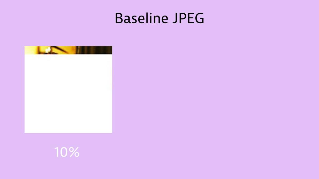 Baseline JPEG 10%