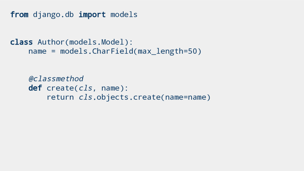 from django.db import models class Author(model...