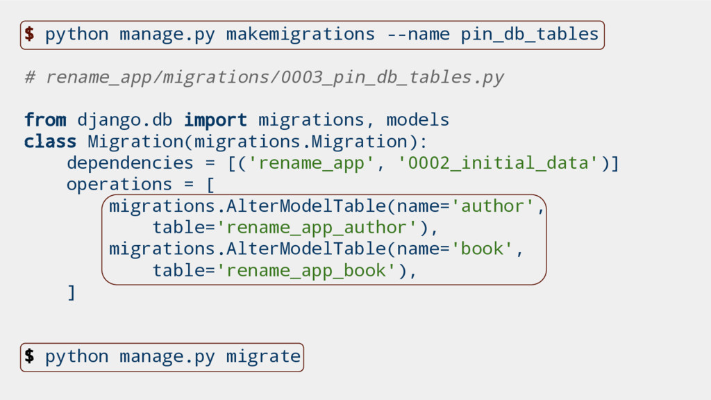$ python manage.py makemigrations --name pin_db...