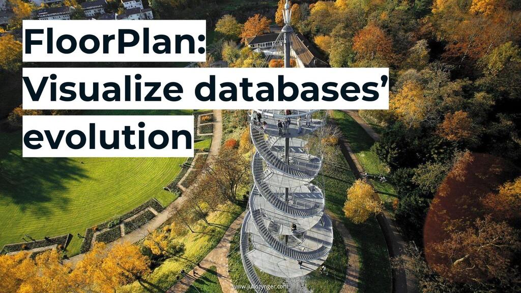 FloorPlan: Visualize databases' evolution www.j...