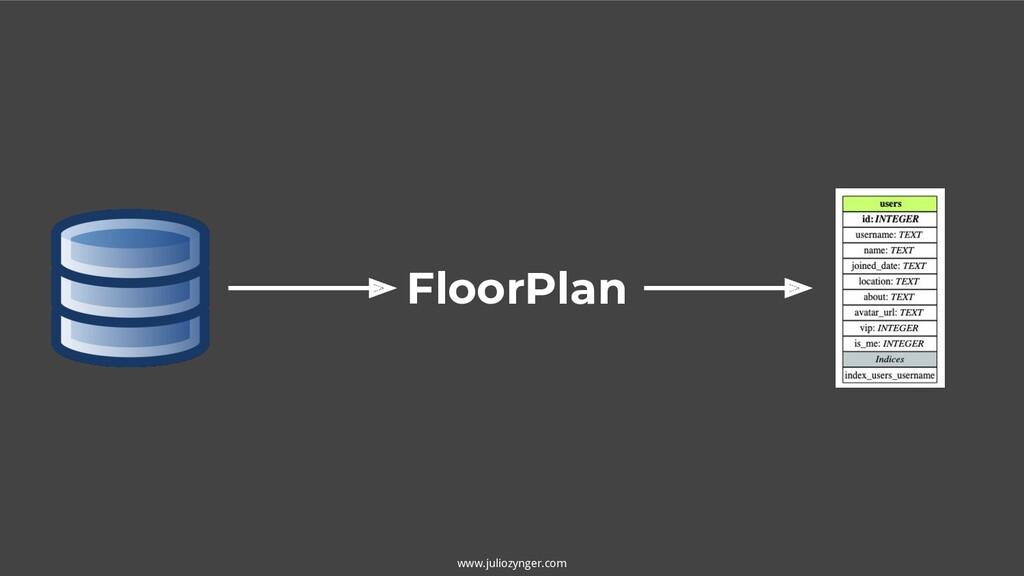 www.juliozynger.com FloorPlan