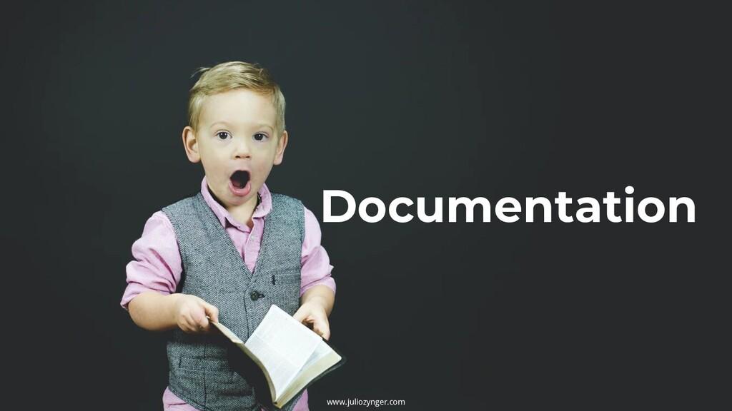 www.juliozynger.com Documentation