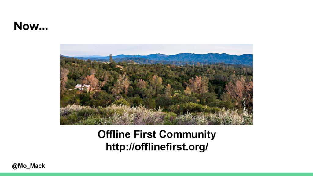@Mo_Mack Offline First Community http://offline...