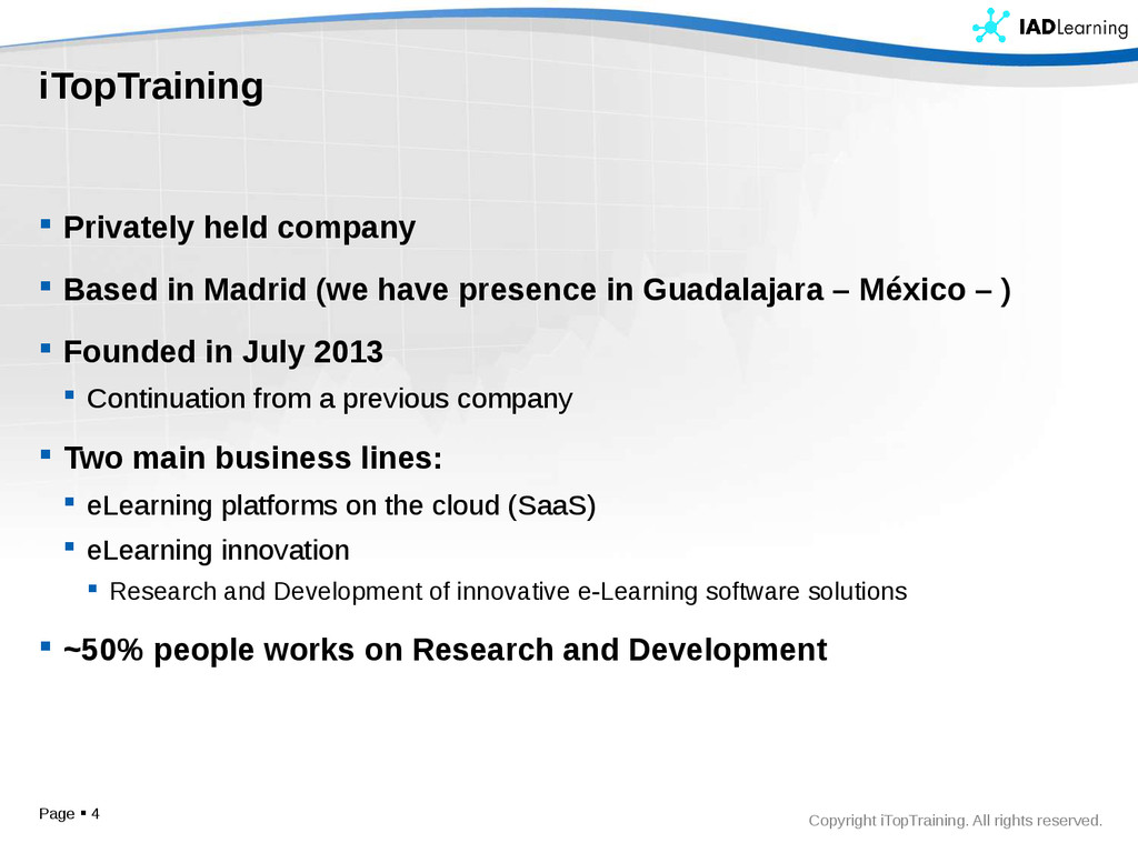 Copyright iTopTraining. All rights reserved. iT...