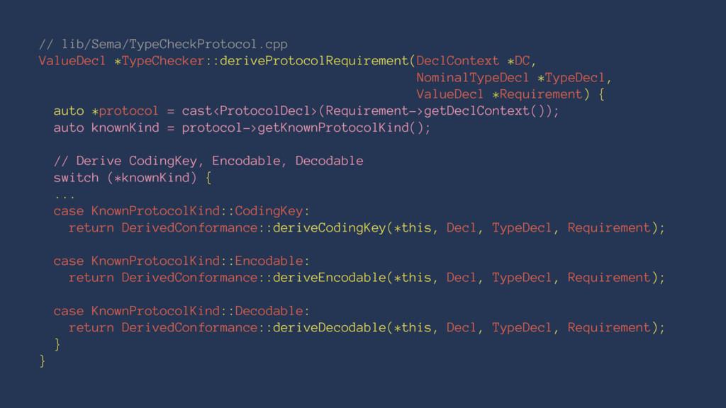 // lib/Sema/TypeCheckProtocol.cpp ValueDecl *Ty...