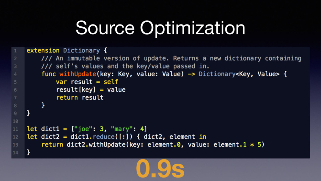 Source Optimization 0.9s
