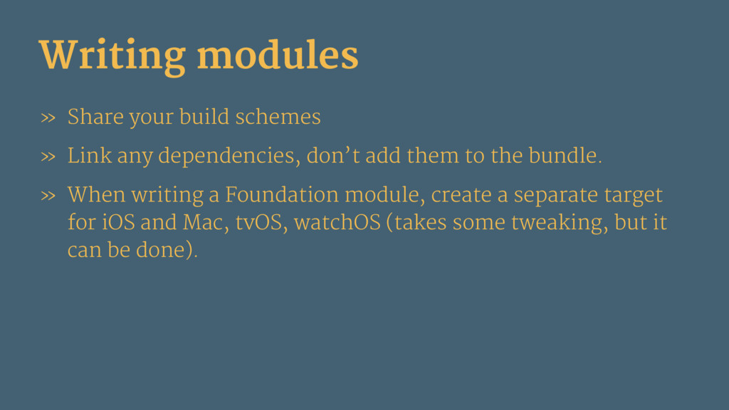 Writing modules » Share your build schemes » Li...