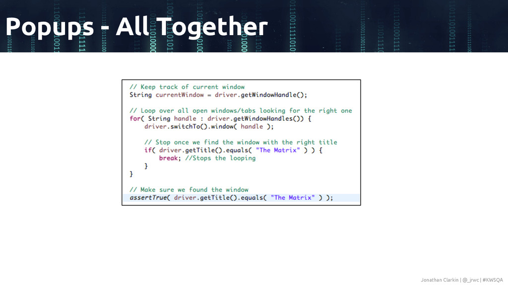 Popups - All Together Jonathan Clarkin | @_jrwc...