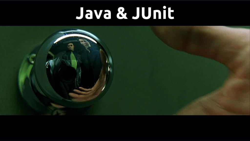Java & JUnit