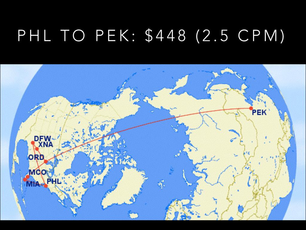 P H L T O P E K : $ 4 4 8 ( 2 . 5 C P M )