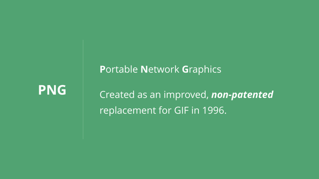 PNG Portable Network Graphics Created as an imp...