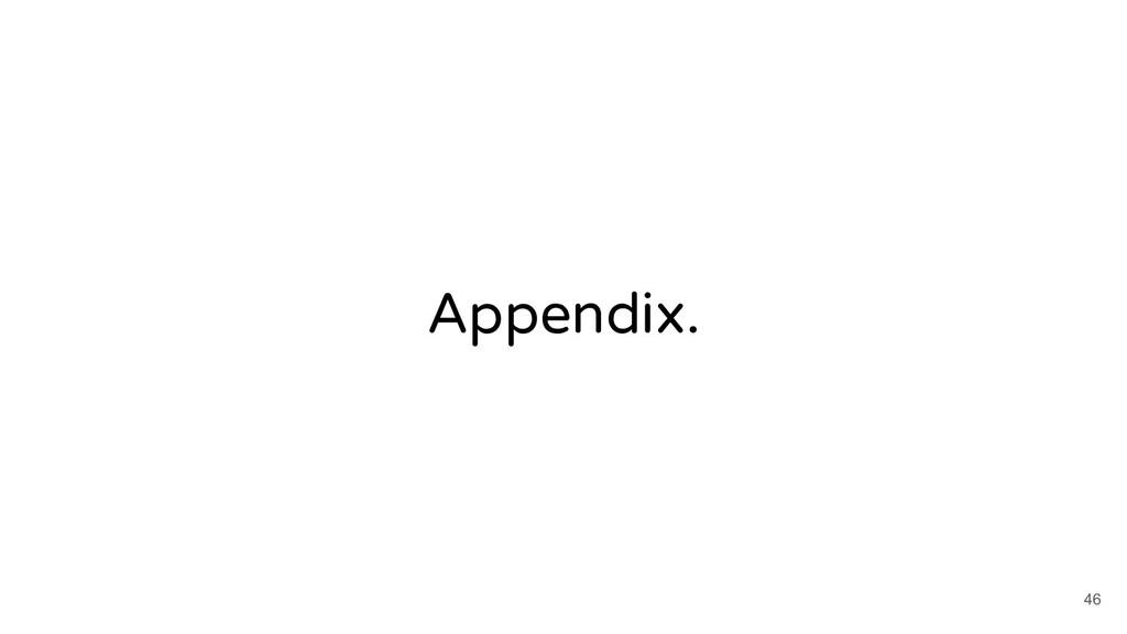 Appendix. 46
