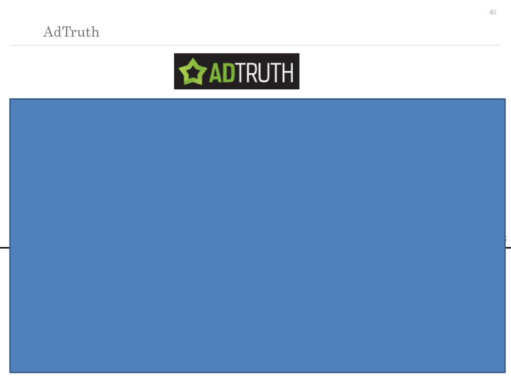 46 AdTruth ・情報理論を用いて確率的にデバイス識別のIDを発行する ・UserAge...