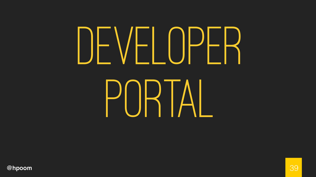 @hpoom Developer Portal 39