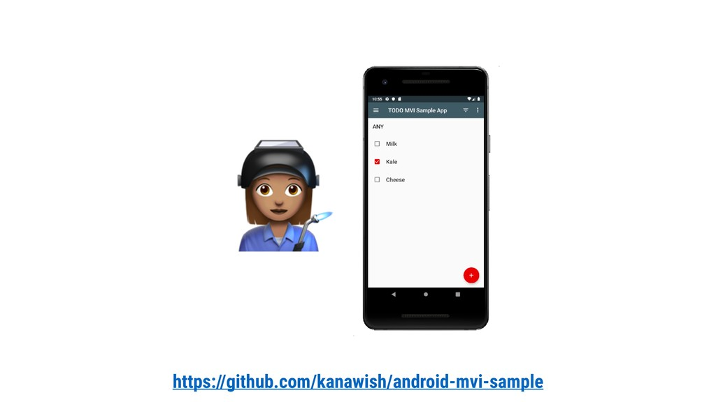 https://github.com/kanawish/android-mvi-sample #