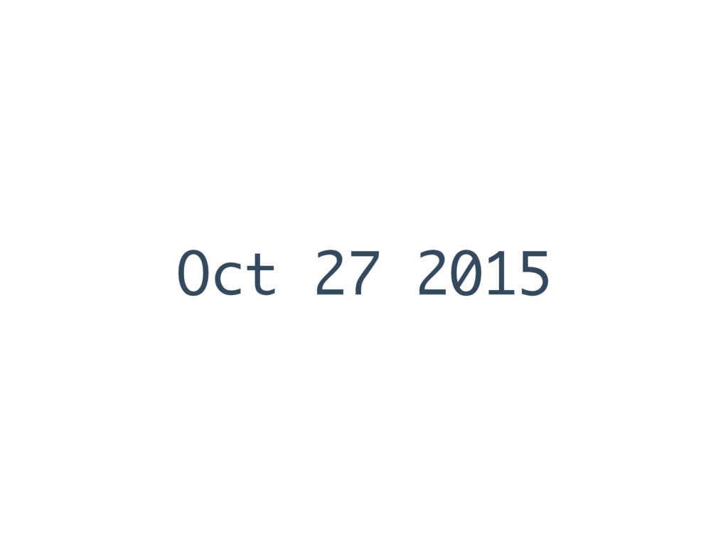 Oct 27 2015