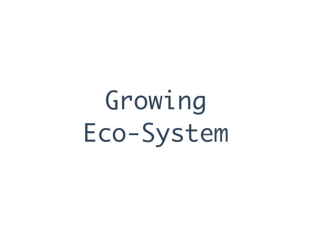 Growing