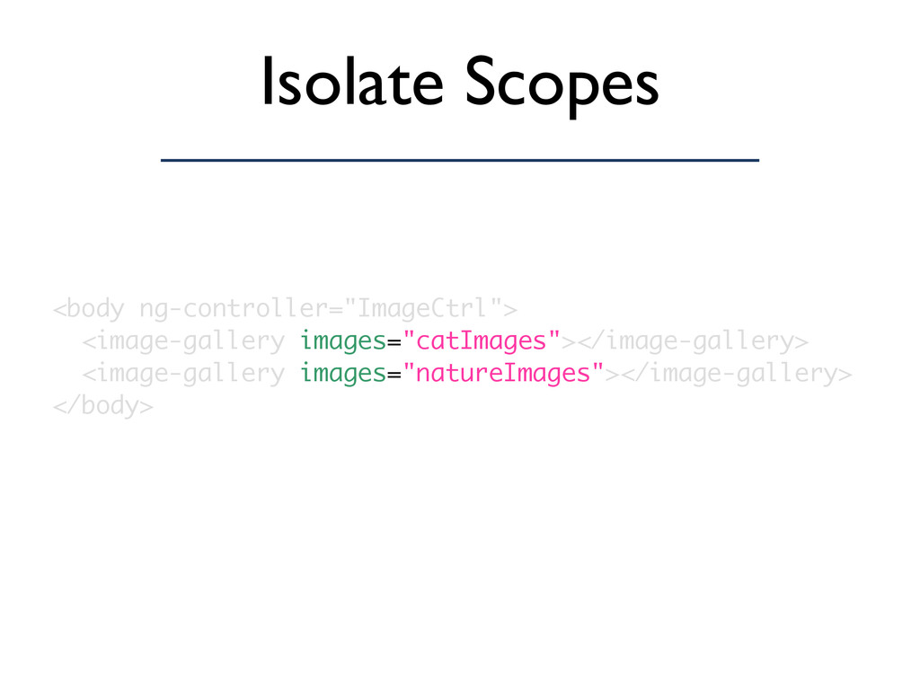 "Isolate Scopes <body ng-controller=""ImageCtrl"">..."
