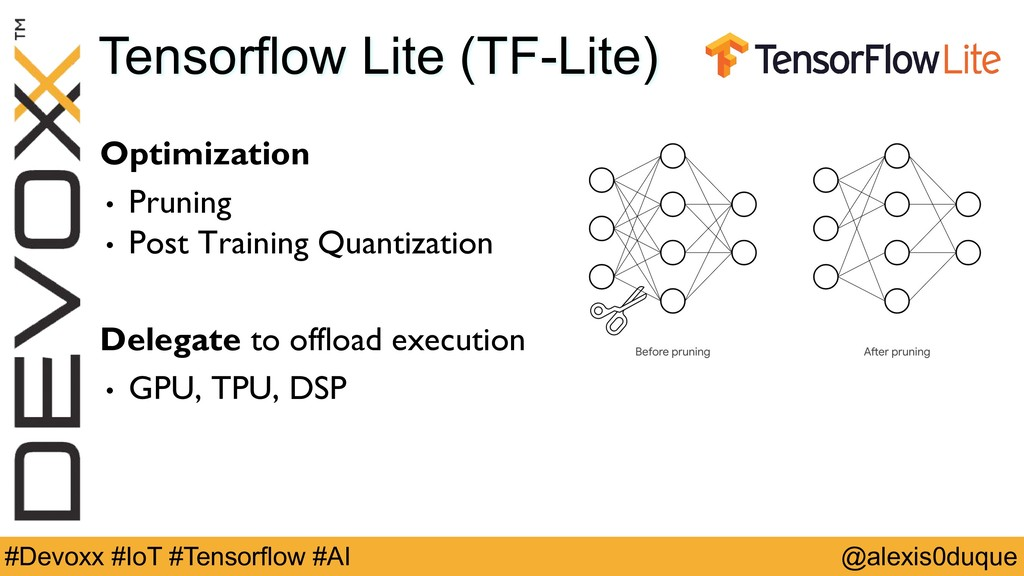 @alexis0duque #Devoxx #IoT #Tensorflow #AI Tens...