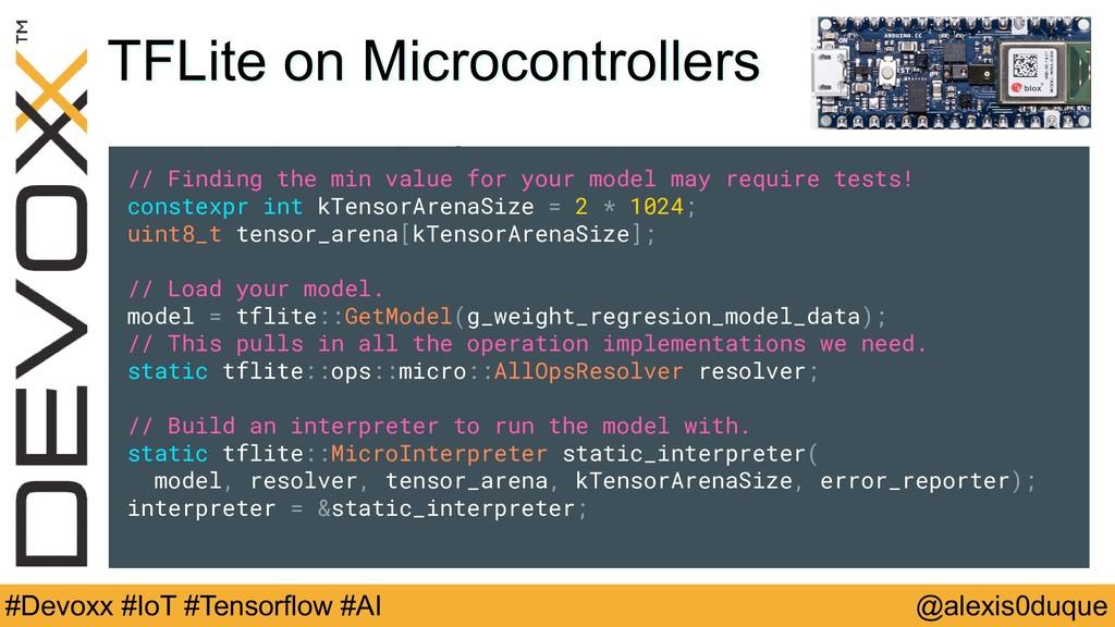 @alexis0duque #Devoxx #IoT #Tensorflow #AI TFLi...
