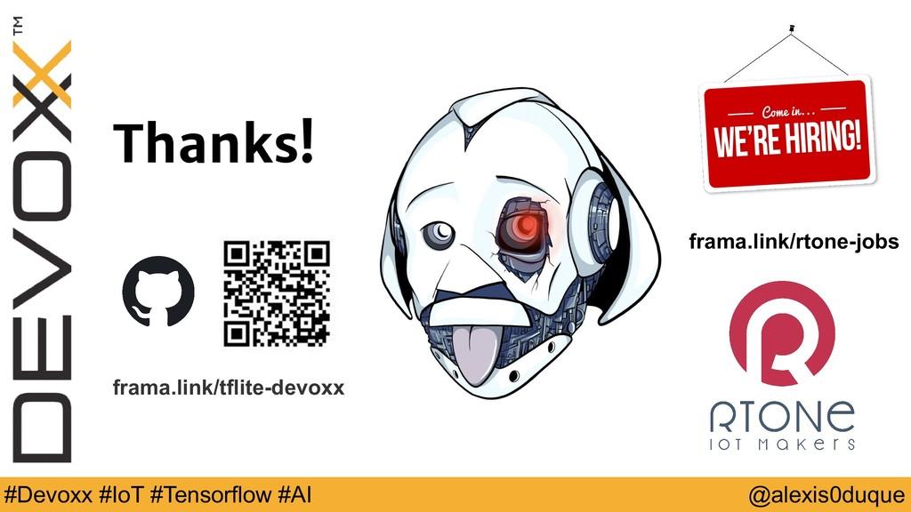 @alexis0duque #Devoxx #IoT #Tensorflow #AI Than...