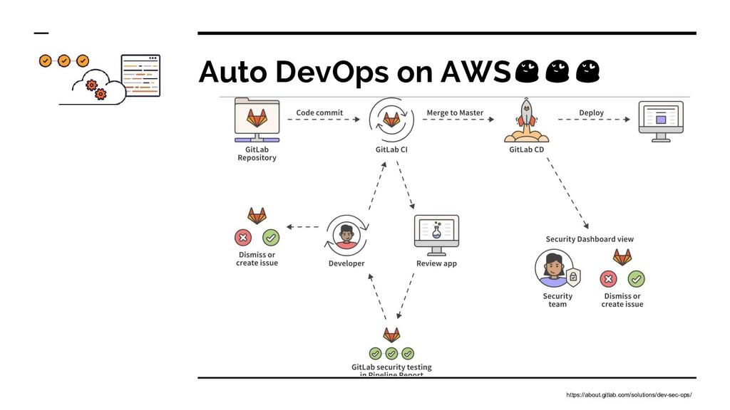 Auto DevOps on AWS https://about.gitlab.com/sol...