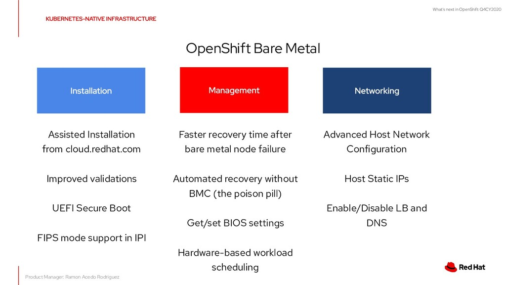 What's next in OpenShift Q4CY2020 OpenShift Bar...
