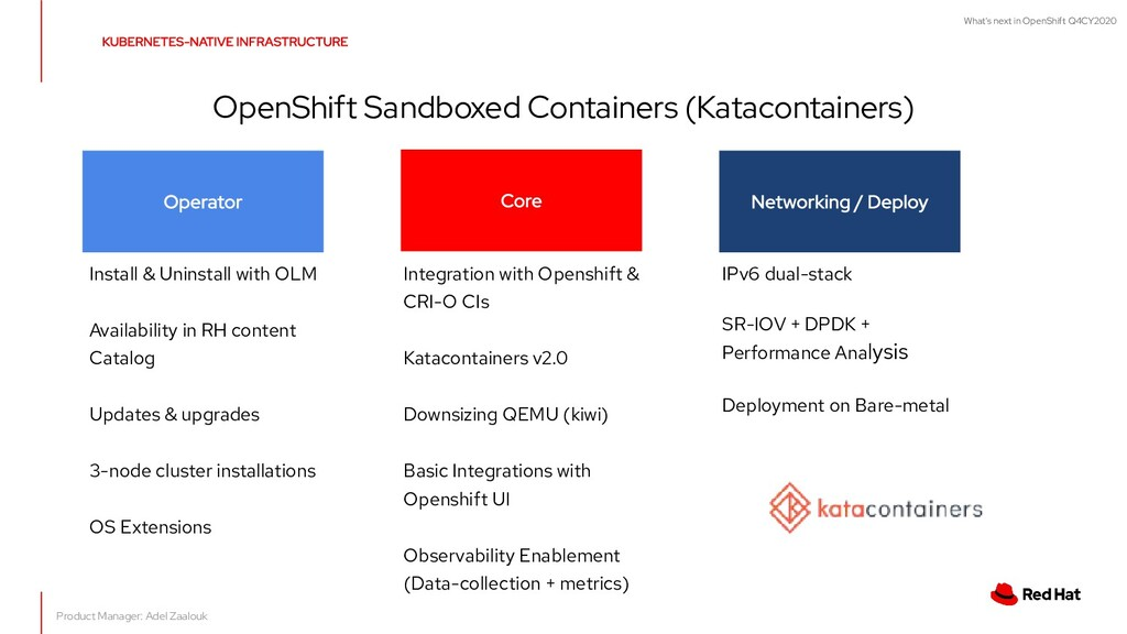 What's next in OpenShift Q4CY2020 OpenShift San...