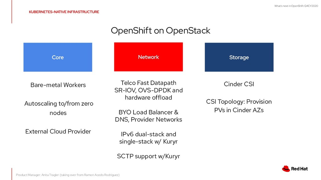What's next in OpenShift Q4CY2020 OpenShift on ...