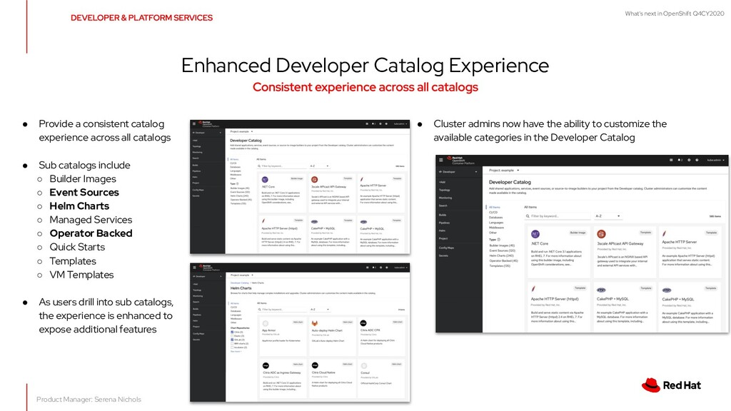 What's next in OpenShift Q4CY2020 Enhanced Deve...